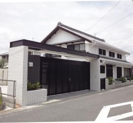 施工写真-一般住宅 S様邸 -ガレージゲート、ガーデン新築工事-