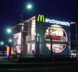施工写真-マクドナルド港知多店(名古屋市)