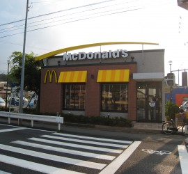 施工写真-マクドナルド1号線追分店