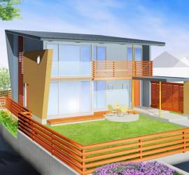 建築パース-一般住宅 K様邸(守山区)