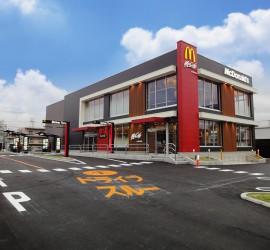 建築施工例-マクドナルド一社店